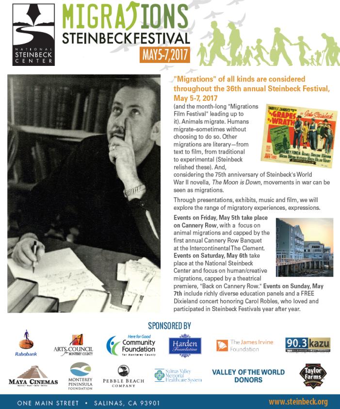 Steinbeck Festival 2017
