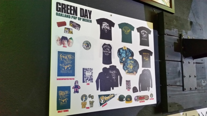 Green Day Pop Up Shop 13
