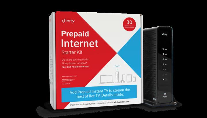 Prepaid Xfinity - Comcast