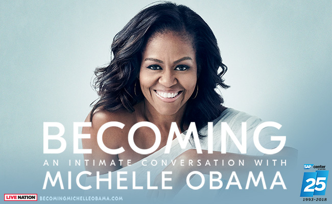 becominb michelle obama sap centter