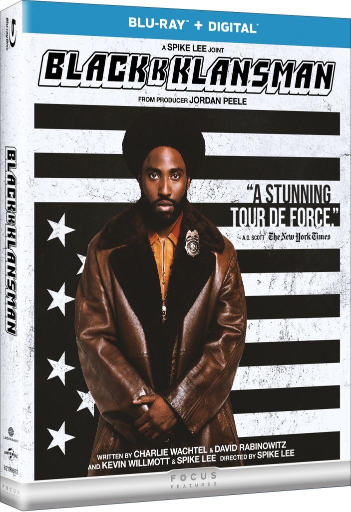 Blackkklansman - Blu-ray Box Art 2