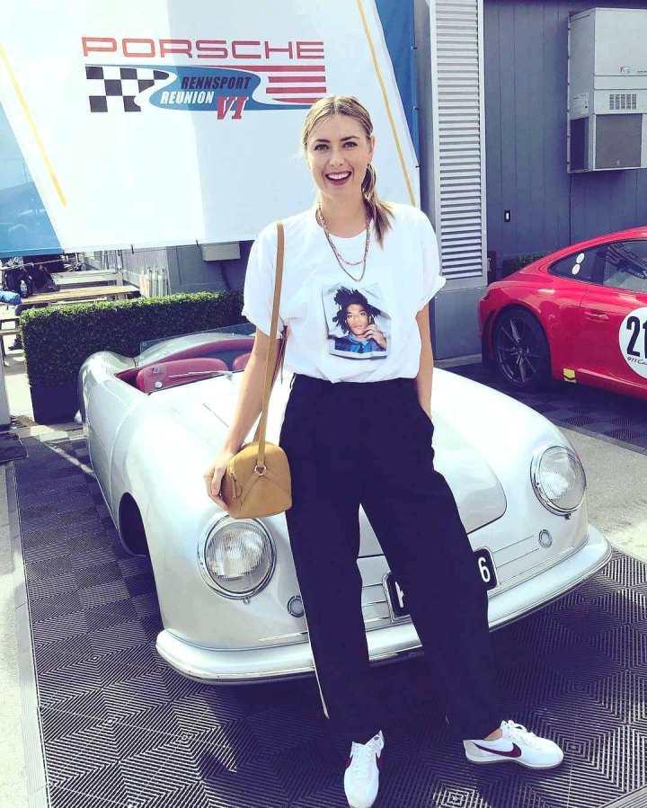 Porsche Reunion Monterey - 8 Maria Sharapova