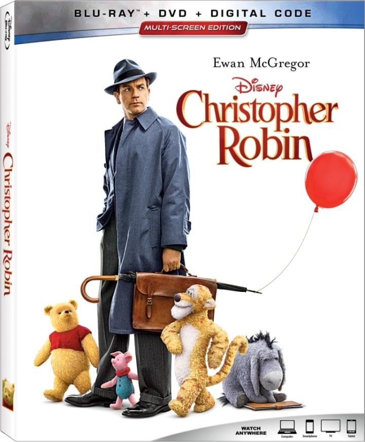 Christopher Robin_Blu-ray Box Art