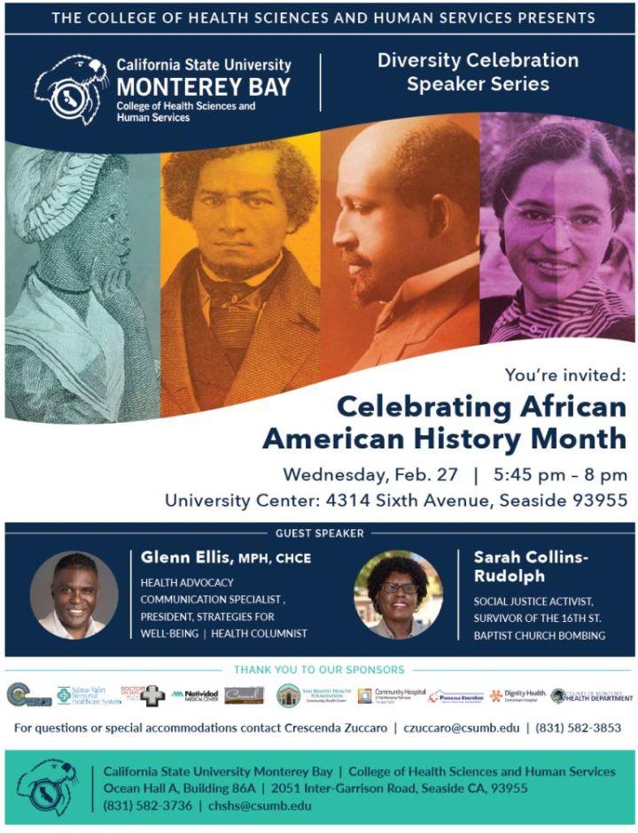 Black History Month CSUMB - 1