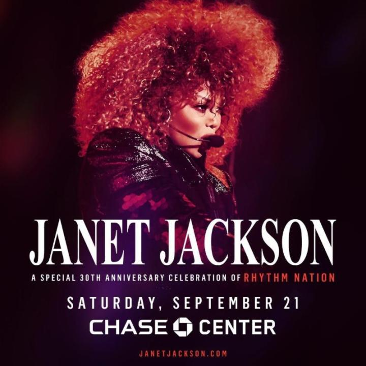 Janet Jackson Chase Center