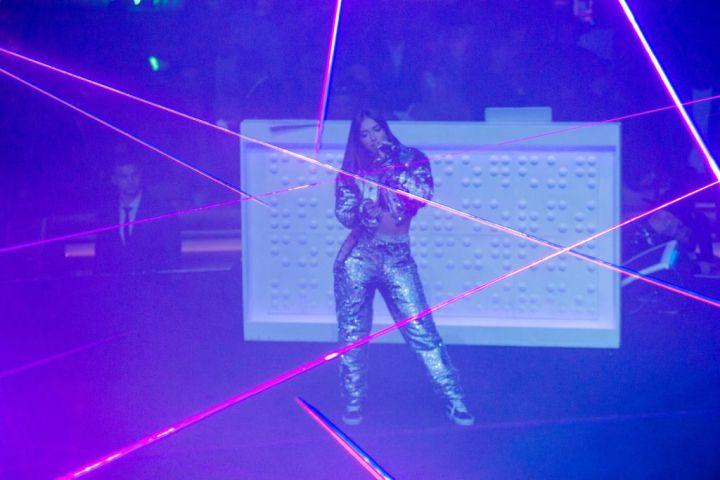 Presentación de Mariah en THE AFTER fiesta oficial de Telemundo y Universal Music Latin Entertainment en celebración de los Premios Billboard de la Música Latina