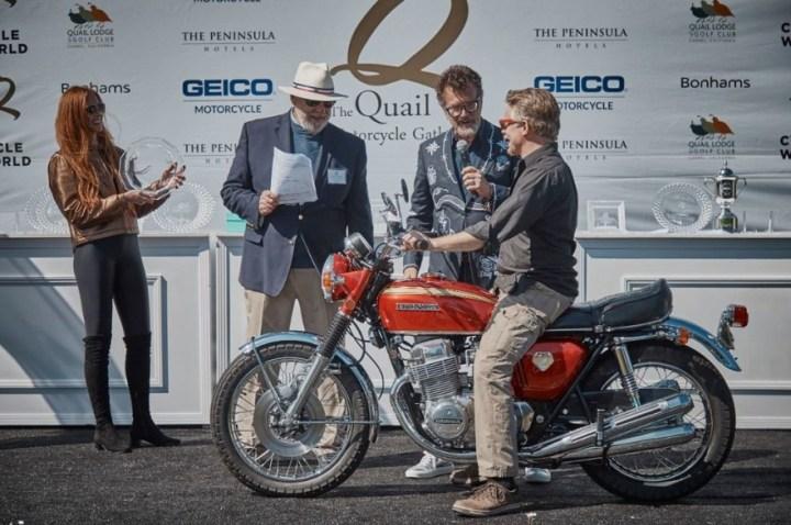 Sam Roberts - Honda CB750 - Best of Show-XL