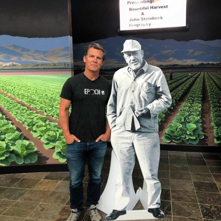 Josh Brolin Visiting Steinbeck Center